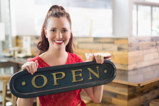 entrepreneurs starting a business