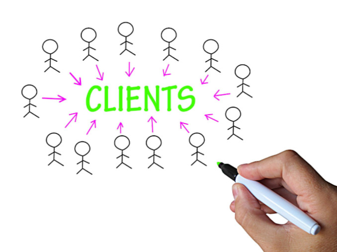 clients on whiteboard: MaxFilings Small Business Marketing Blog